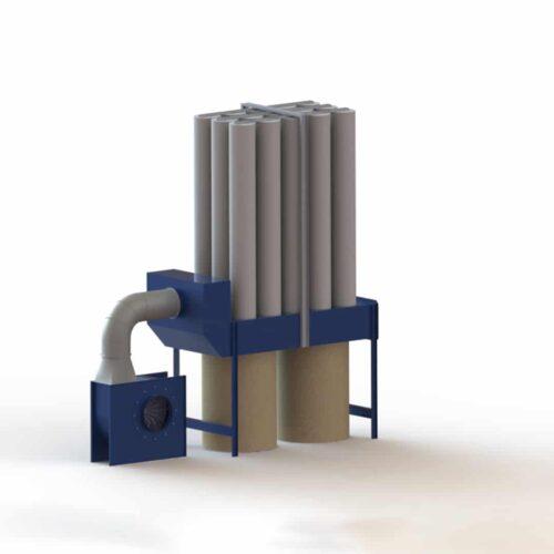 Odpylacze do maszyn CNC